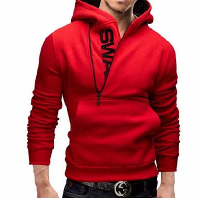 Men Hoodie Sweatshirt Long Sleeved Slim Fit Male Zipper Hoodies Assassins Creed Jacket Plus Size Casual Cardigan