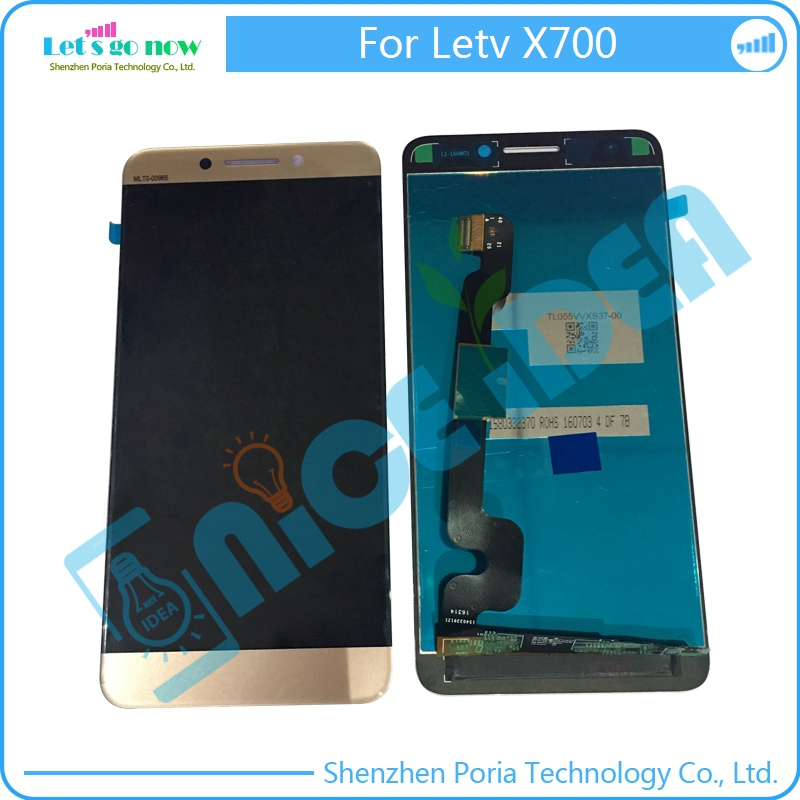LCD Display For Letv X700 Screen+Touchscreen Panel Digitizer Replacement With Tools+Track Number
