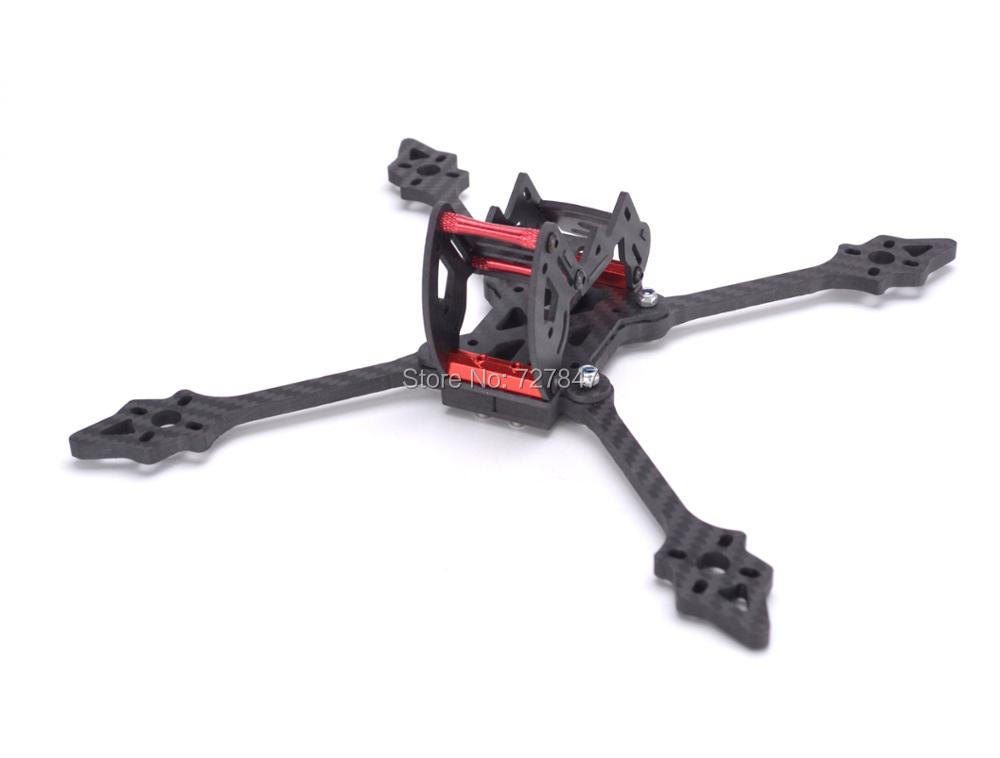 Chopsticks 5 Inch 215mm 215 Pure Carbon Fiber Frame kit with 5mm arm and aluminum parts for FPV cross racing drone quadcopter awesome f100 100mm quadcopter frame kit wheelbase mini four axis aircraft pure carbon fiber for fpv rc racing drone frame kit