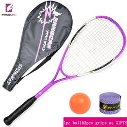 1 pc FANGCAN high quality squash racket purple color composite material squash racket