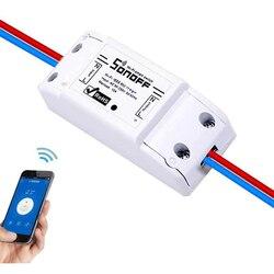 FAI DA TE ITEAD Sonoff 10A WIFI Wireless Smart Switch A Distanza di Controllo Wifi per La Domotica Modulo Tramite IOS Andriod Smartphone