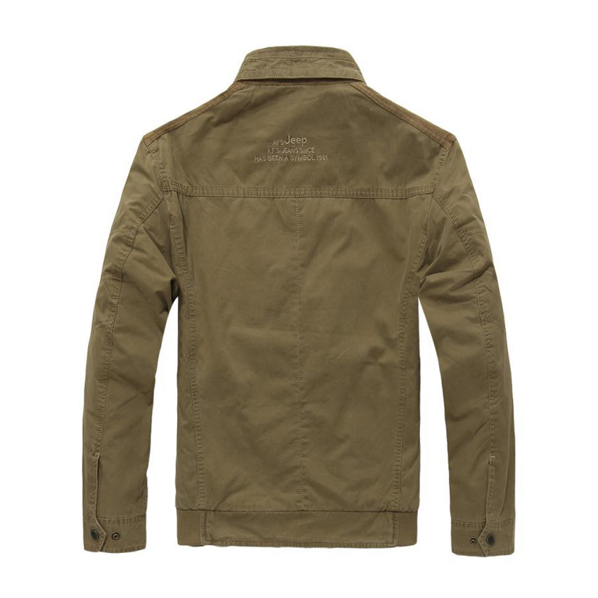 New brand clothing bomber jacket men casual military stand collar jacket mens Spring & Autumn jacket 135wy