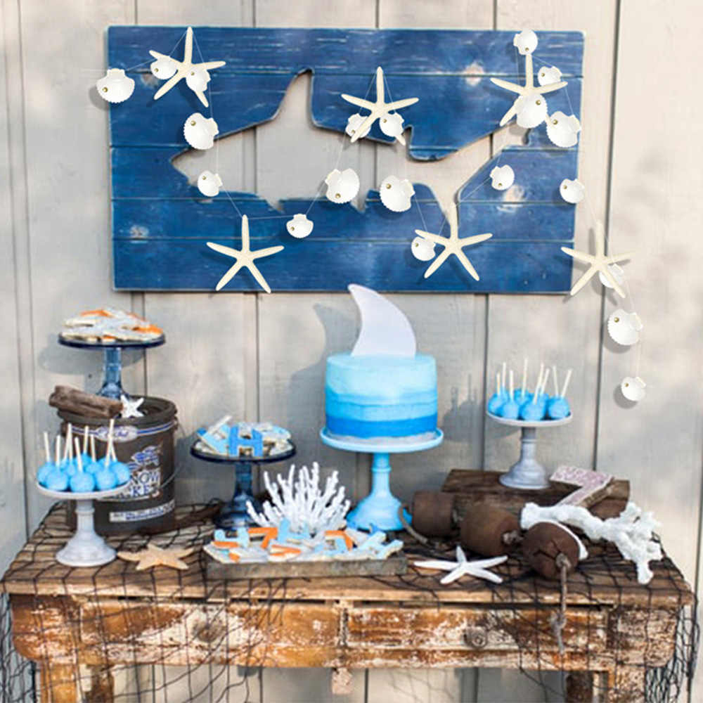 Boy/'s Beach Birthday Flags Smash Cake Party Ocean Party Whales and Anchors