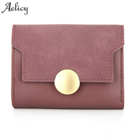Aelicy High Quality Women Mini Leather Wallet Whole Sale And Hand Bags Short New Design Coin