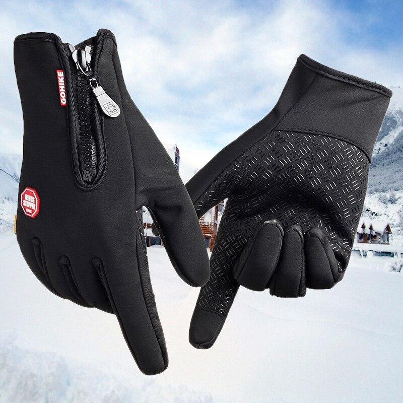 Prix pour Top Vente Nouveau Arrivé Marque Femmes Hommes Gants de Ski Snowboard Gants Moto D'équitation D'hiver Tactile Écran de Neige Coupe-Vent Gant