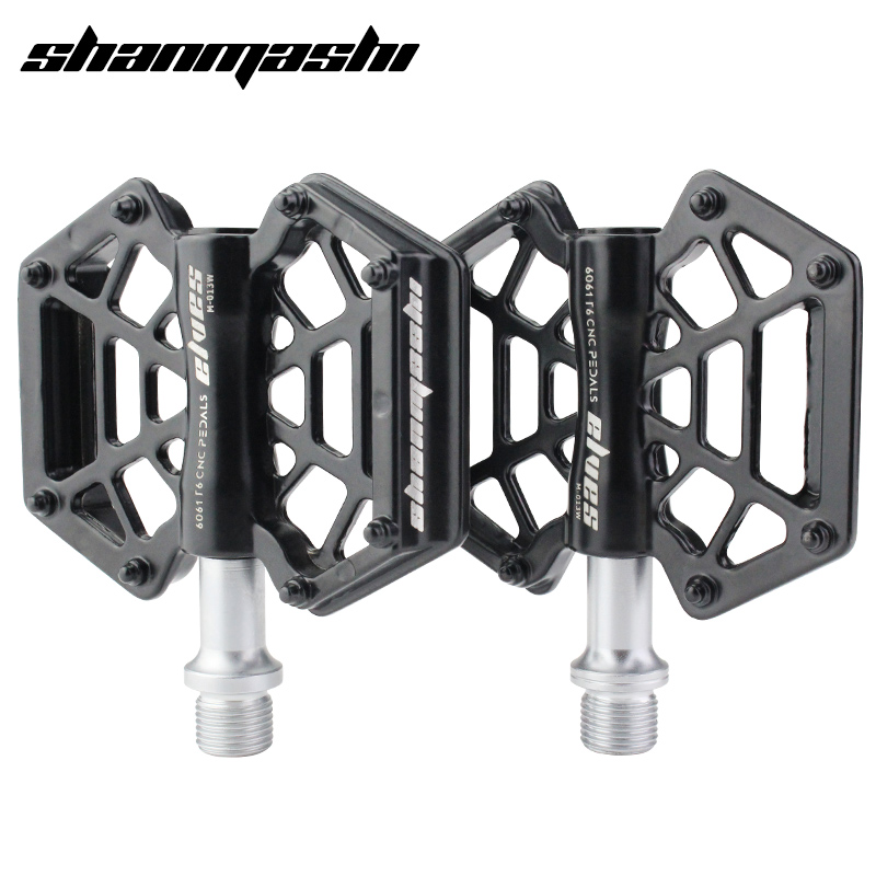 SMS Cycling Bike MTB Flat Bicycle Pedals Racing Anti-slip Light Magnesium Pedals