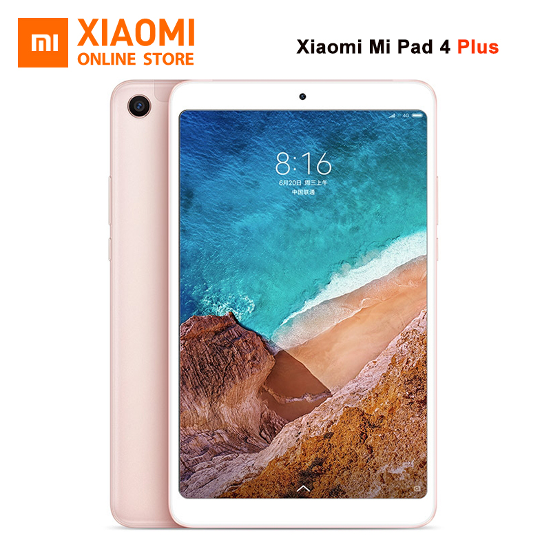 "Original Xiaomi Mi Pad 4 Plus PC Tablet 10.1"" Snapdragon 660 Octa Core Face ID 1920x1080 13.0MP+5.0MP 4G Tablet Android MiPad 4(China)"
