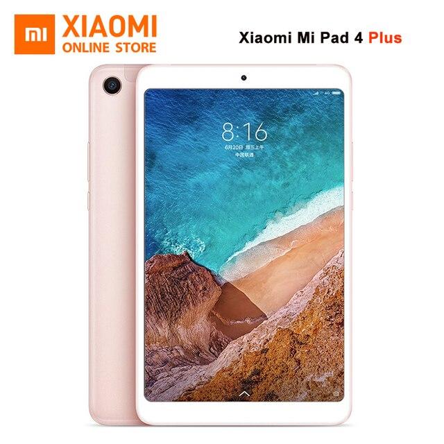"""Original Xiaomi mi Pad 4 Plus Tablet PC 10,1 """"Snapdragon 660 Octa Core, Cara de 1920x1080 13.0MP + 5.0MP 4G Tablet Android mi Pad 4"""