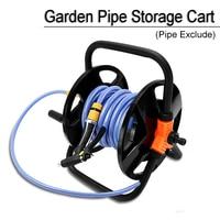 15 20m Black Hose cart Garden pipe storage cart Winding tool Plumbing shelf Hose reel SingleHousehold Irrigation Tool
