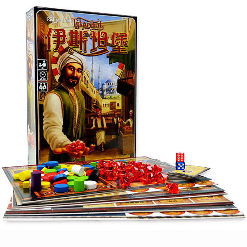 Istanbu Board Game ,Chinese Verison,2-5 Plays ,Send English Instructions ,Easy Play With Friends/Family Board Game