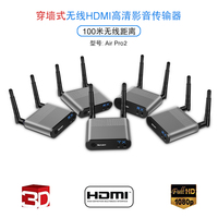 MEASY Air Pro4 100M/330Feet HDMI Wireless Video Extender Kit with Portable Transmitter for Ultrabooks and Laptops 1080P 3D
