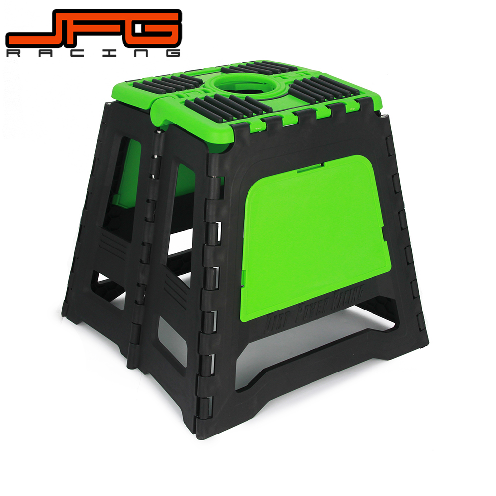 Plastic Stand Stool Repairing Folding Lift Repair Holder For Dirt Pit Bike Motocross Motorbike crf50 frame battery box dirt pit bike case holder off road motorcycle apollo 110 chinese motocross