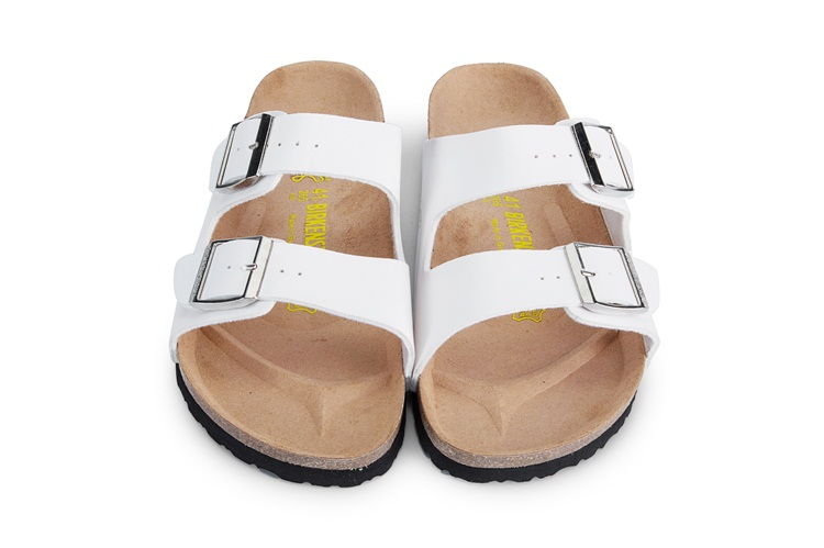 5569f9896 Birkenstock Summer Arizona Soft Footbed Leather Sandal Women shoes Unisex  Shoes Modis 802 Slippers Women Slippers Outdoor-in Low Heels from Shoes on  ...