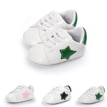 79d3a0b8162 Νέα Άφιξη Baby Moccasins παπούτσια Χαριτωμένο μικρό αστέρι δερμάτινα παπούτσια  μωρών To.