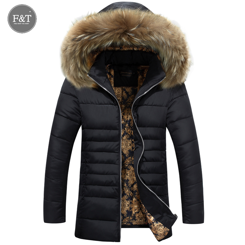 Подробнее о New Winter Jacket Men Cotton Parkas Padded Long Black Thick Warm Casual Hooded  Fur Collar Jacket Coat Outwear Zipper Jackets winter jacket men coats thick warm casual fur collar winter windproof hooded outwear men outwear parkas brand new