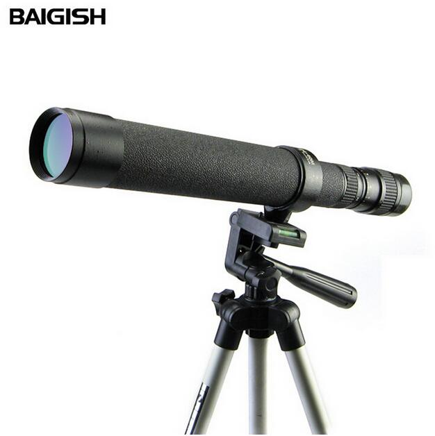 Original Russian Binoculars Baigish High Times 8-24X40 zoom monocular telescope Astronomical telescope with tripod SP09 10x zoom telescope lens with tripod