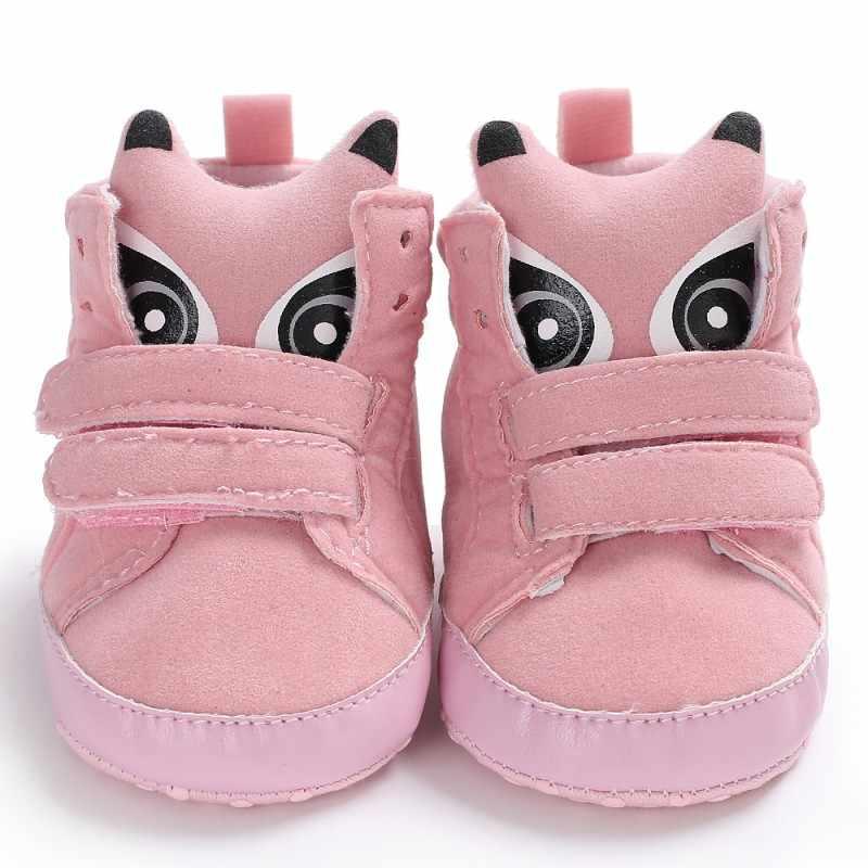 Zapatos de bebé niño niña alto zapato infantil recién nacido Casual Prewalker niños botines niños botas Bebe Sapatos deporte Zapatillas