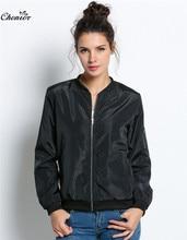 Long Sleeve & Short MA1 Pilot Bomber Jackets for Women & Casual Outwear Coats