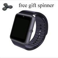 כרטיס ה-sim תמיכה Inteligente GT08 Reloj שעון החכם חדש קישוריות Bluetooth Smartwatch טלפון אנדרואיד Iphone