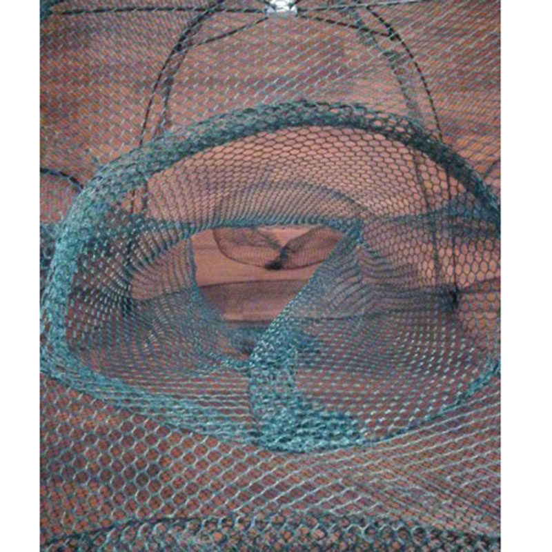 camarão armadilha iscas peixe minnow caranguejo isca elenco malha armadilha