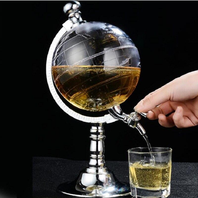 Bar décoration créative mini globe distributeur d'eau/personnalité bière liquide machine à boire décor à la maison vin verseurs Bar outils