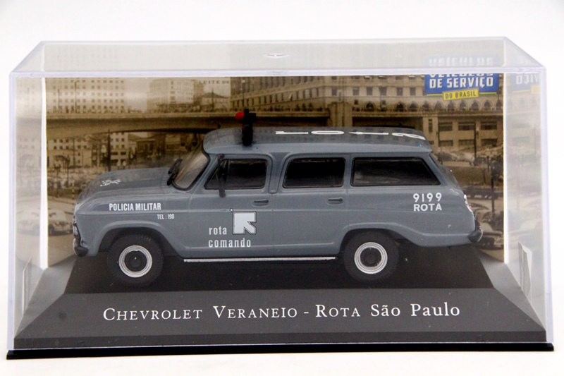 цена на IXO Altaya 1:43 Scale Chevrolet Veraneio 9199 Rota Paulo Car Diecast Toys Models Limited Edition Collection