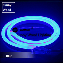 8mm wide Mini Neon flex 5 meters/lot 120pcs 2835 SMD per meter   led neon tube ,220V  led sign board tube ,blue flexible tape