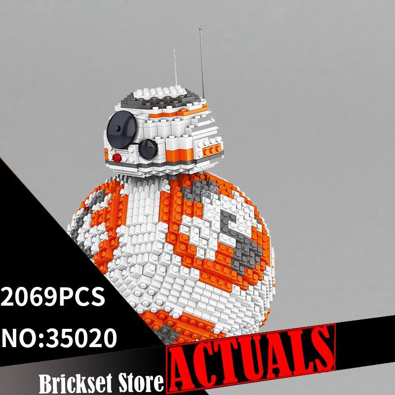 где купить LELE 35020 UCS Robot Star Series Wars Building Blocks Bricks Enlighten Toys DIY For Kids Model Compatible with legoINGly MOC по лучшей цене
