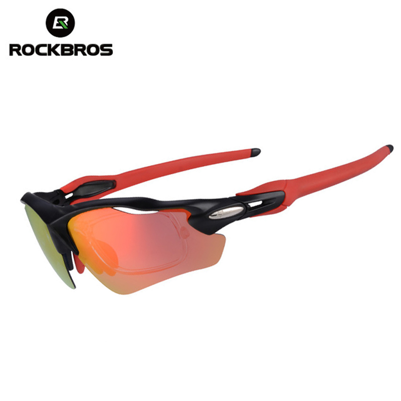 56446caa26 ROCKBROS Polarized Cycling Glasses bicycle Sunglasses Mutifunction Eyewear  UV400 Mountain Bike spectacles for Men Women -in Cycling Eyewear from Sports  ...