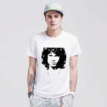 The Door JIM MORRISON shirts Men Summer Casual Style T Shirts Cotton Short Sleeve O-neck T-shirts Vogue Classic Tees