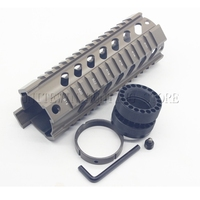 Airsoft Shooting AR15 M4 Handguard Carbine 7 inch Length Quad Rail System Handguard 1pcs