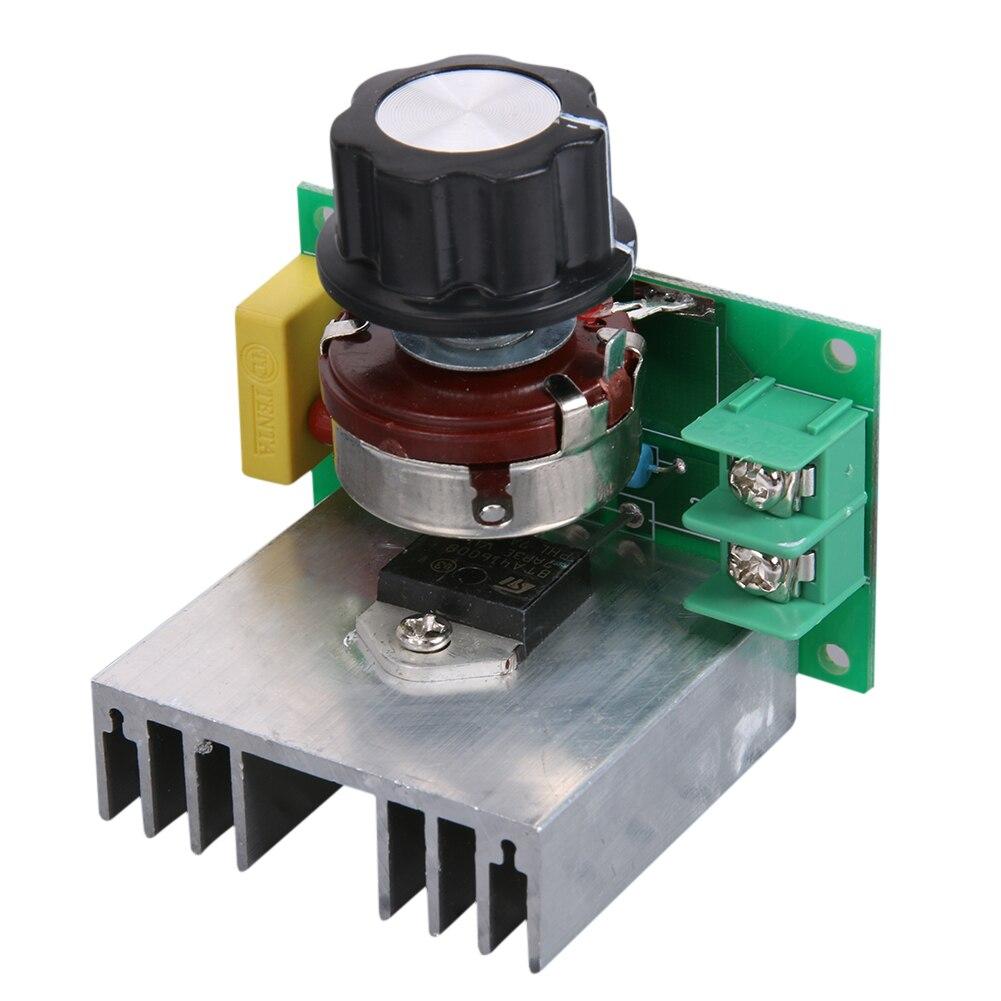 Micro AC 110V 3800W Voltage Regulator Speed Controller Temperature Dimmer
