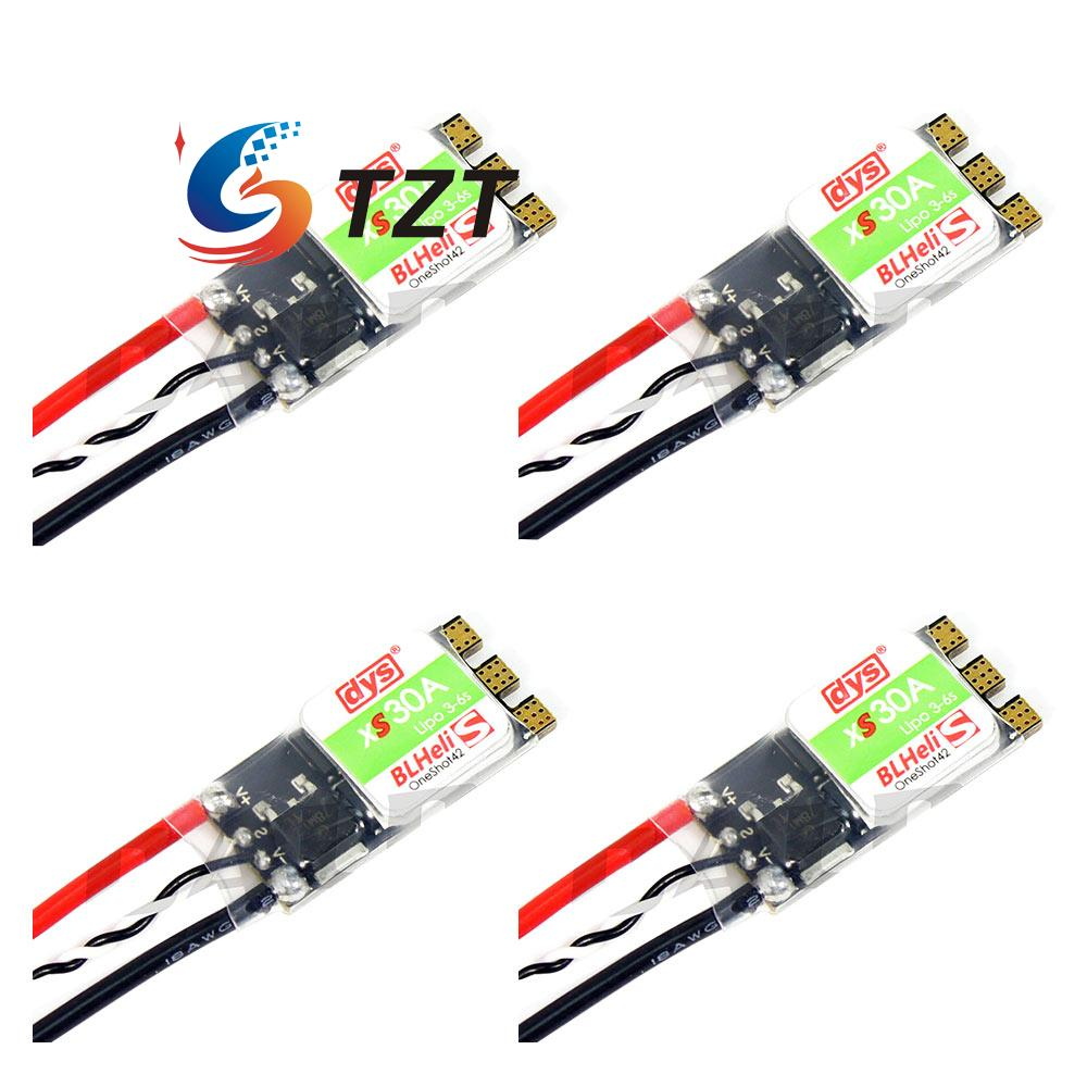 DYS XS30A Blheli 30A ESC Electronic Speed Controller Support Oneshot42 for FPV Quadcopter 4Pcs