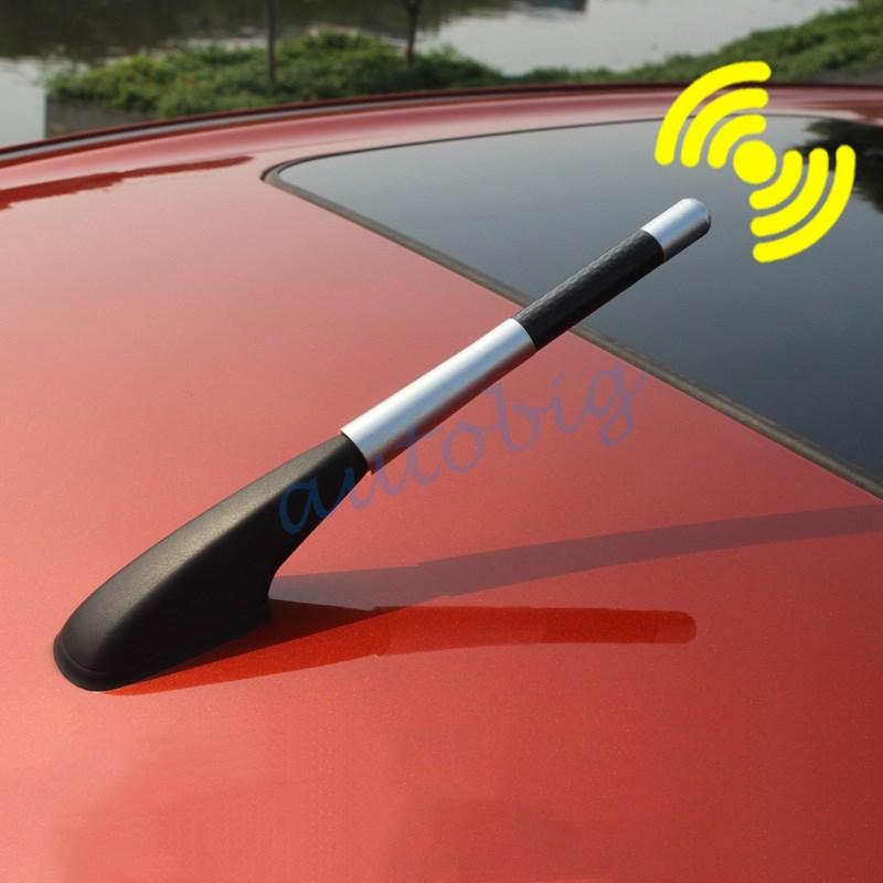 Prix pour Amplificateur de voiture Antenne FM/AM Boulon Vis Moulage Court Antenne Automobile Signal Radio Accessoires Pièces