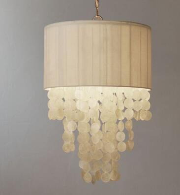 American style Pendant Lights bedroom bedside cloakroom entrance Princess Room Nordic garden fabric restaurant LU814282