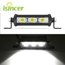 Auto Luce LED Work Light Bar Bianco 6000 k DRL Fari Fendinebbia Lmap Lampadine per Auto 12 V 24 V Auto Riflettore Luce LED Auto Styling