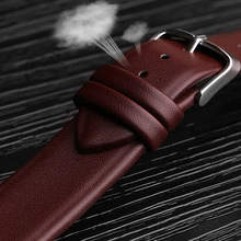 Watchbands Genuine Leather Watch Band straps 12mm 14mm 16mm 18mm 20mm 22mm accessories Women Men Brown Black Belt band