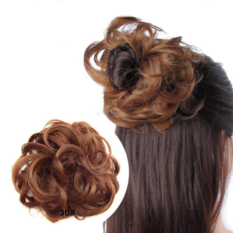 jeedou Синтетические волосы Chignon Donut Black - Синтетические волосы - Фотография 5