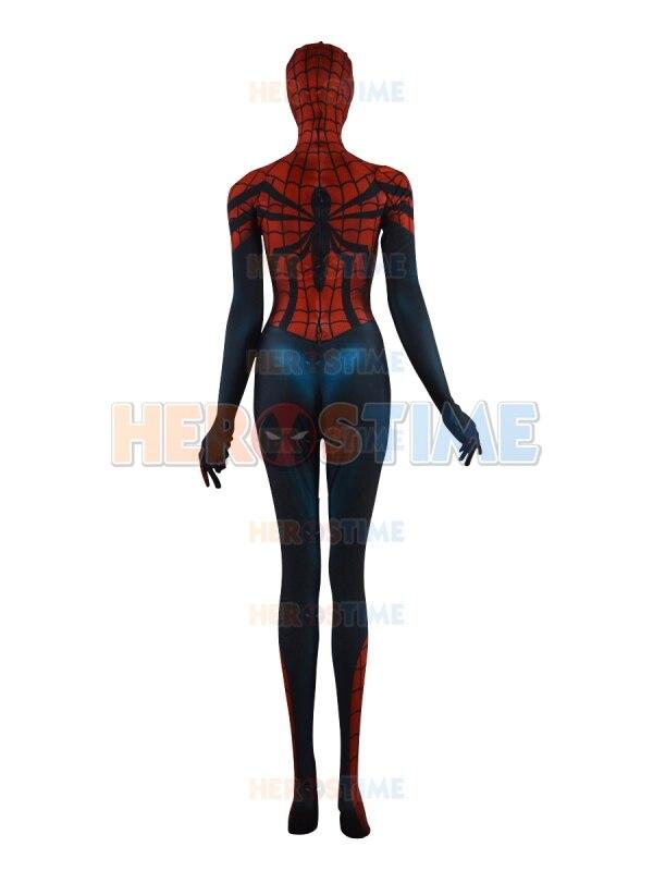 Spider-Girl զգեստները Parker Morph կոստյում Տպել - Կարնավալային հագուստները - Լուսանկար 4