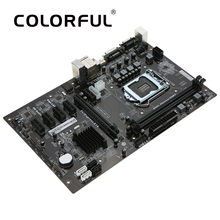 Colorful C.H81A-BTC V20 Motherboard Systemboard for Intel H81/LGA1150 Socket DDR3 SATA3.0 ATX Mainboard for Miner Mining Desktop