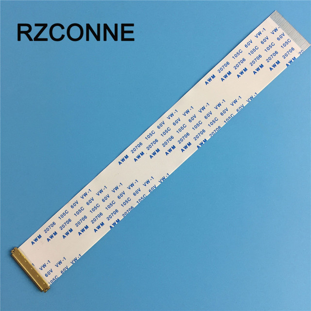 2pcs I PEX 20454 030 FFC FPC Flexible Flat Ribbon Cable 30 Pin 0.5mm pitch for 10 14.115.6 17 EDP Panel Same Direction