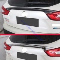 For Nissan Qashqai J11 2015 2016 2017 Rear Trunk Molding Bezel Styling Sticker Garnish
