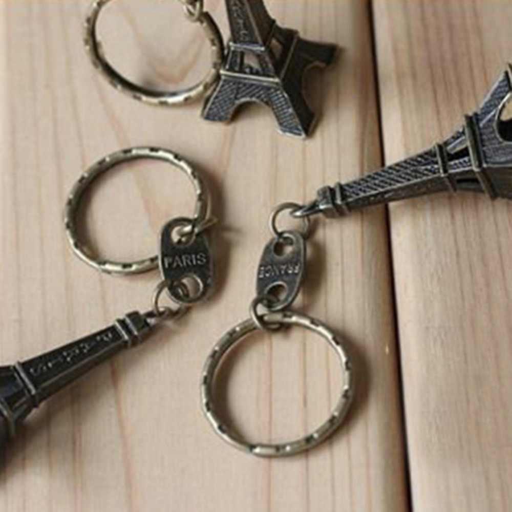 Torre Eiffel Tower พวงกุญแจสำหรับคีย์ของที่ระลึก, Paris Tour Eiffel พวงกุญแจ Key Chain Key Ring ตกแต่ง Key Holder