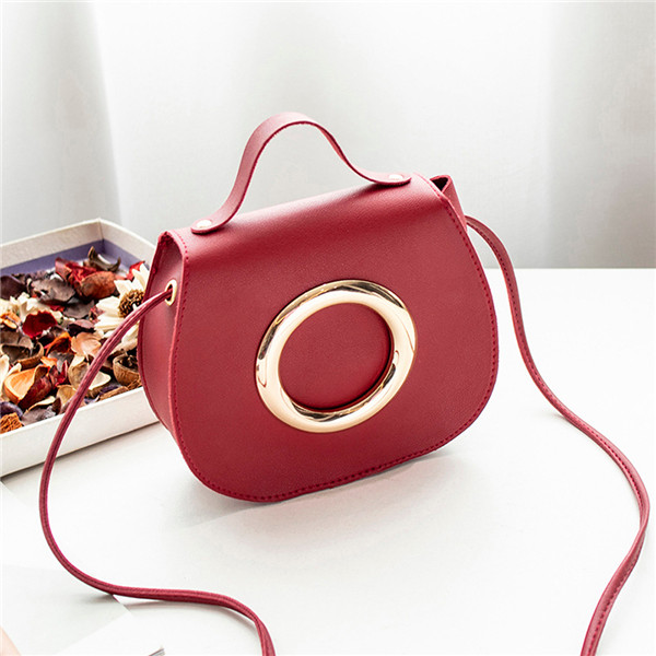 New promotions in 2019, low-price crazy purchase, time limit of 3 days! One-shoulder oblique handbag red ordinary 47