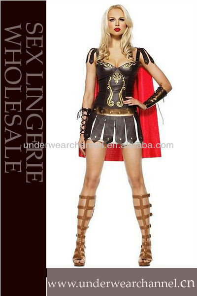 Leather ancient Greek super-walkland costume Spanish gladiator suit sexy uniform halloween costumes for women  sc 1 st  AliExpress.com : leather gladiator costume  - Germanpascual.Com