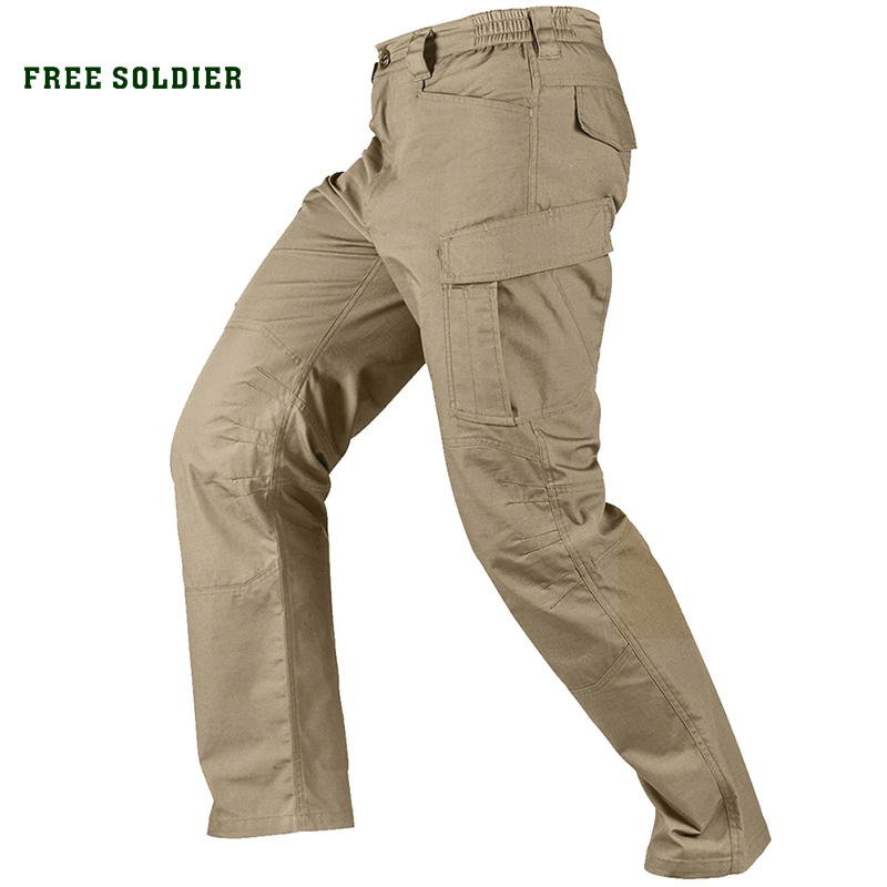 FREE SOLDIER outdoor sports camping trekking men s tactical pants anti scrape male s trousers for