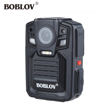 цена на BOBLOV Police Camera HD66-02 Ambarella A7 1296P HD Video Recorder Camera DVR IR Night Vision Pocket Security Body Worn Cam