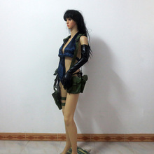 Metal Gear Solid V Venom Snake Quiet Cosplay Costume Include Bags