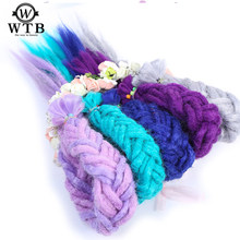 WTB 1pack 20inch Handmade Dreadlocks Extension Fashion Reggae Crochet Hip-Hop Synthetic Dreads Crochet Braiding Hair(China)