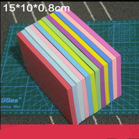 DIY Cheap Macaron Color Chunk Professional Engraving Rubber Stamp Seal Stamp Free Shipping 15 10 0